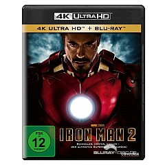 Iron Man 2 4K (4K UHD + Blu-ray) Blu-ray
