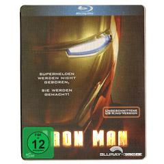 Iron Man (Ungeschnittene US-Kinofassung) (Steelbook) Blu-ray