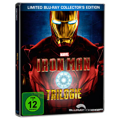Iron Man Trilogie - Limited Collector's Edition Steelbook Blu-ray
