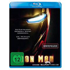 Iron Man (Ungeschnittene US-Kinofassung) Blu-ray
