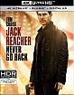 Jack Reacher: Never Go Back 4K (4K UHD + Blu-ray + UV Copy) (US Import ohne dt. Ton) Blu-ray