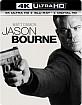 Jason Bourne (2016) 4K (4K UHD + Blu-ray + UV Copy) (US Import ohne dt. Ton) Blu-ray