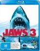 Jaws 3 (Blu-ray 3D + Blu-ray) (AU Import) Blu-ray