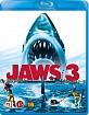 Jaws 3 (Blu-ray 3D + Blu-ray) (DK Import) Blu-ray