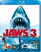Jaws 3 (Blu-ray 3D + Blu-ray) (NO Import) Blu-ray