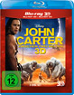 John Carter - Zwischen zwei Welten 3D (Blu-ray 3D) Blu-ray