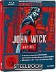 John Wick: Kapitel 2 - Limited Edition Steelbook (CH Import) Blu-ray