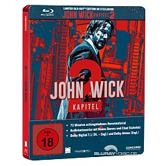 John Wick: Kapitel 2 (Limited Steelbook Edition) Blu-ray