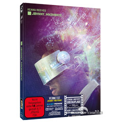 Johnny Mnemonic - Vernetzt (Limited Mediabook Edition) (Cover A) Blu-ray