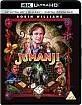 Jumanji (1995) 4K (4K UHD + Blu-ray + UV Copy) (UK Import) Blu-ray
