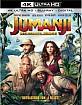Jumanji: Welcome to the Jungle 4K (4K UHD + Blu-ray + UV Copy) (US Import ohne dt. Ton) Blu-ray