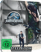 Jurassic World (2015) (Limited Steelbook Edition) (Blu-ray + UV Copy) (Cover B) Blu-ray