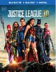 Justice League (2017) 3D (Blu-ray 3D + Blu-ray + UV Copy) (US Import ohne dt. Ton) Blu-ray