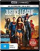 Justice League (2017) 4K (4K UHD + Blu-ray) (AU Import ohne dt. Ton) Blu-ray
