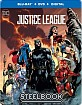 Justice League (2017) - Best Buy Exclusive Steelbook (Blu-ray + DVD + UV Copy) (US Import ohne dt. Ton) Blu-ray