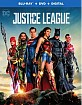 Justice League (2017) (Blu-ray + DVD + UV Copy) (US Import ohne dt. Ton) Blu-ray