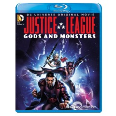 Justice League: Gods & Monsters (Blu-ray + DVD + UV Copy) (US Import) Blu-ray