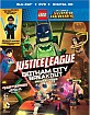 Lego DC Comics Superheroes: Justice League - Gotham City Breakout (Blu-ray + DVD + Digital Copy + Figure) (CA Import) Blu-ray