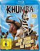 Khumba - Das Zebra ohne Streifen am Popo 3D (Blu-ray 3D) Blu-ray