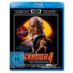 Kickboxer 4 - The Aggressor (Classic Cult Collection) Blu-ray