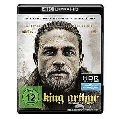 King Arthur: Legend of the Sword 4K (4K UHD + Blu-ray + UV Copy) Blu-ray