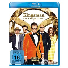 Kingsman: The Golden Circle (2017) Blu-ray