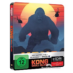 Kong: Skull Island 4K (Limited Steelbook Edition) (4K UHD + Blu-ray + UV Copy) Blu-ray