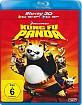 Kung Fu Panda 3D (Blu-ray 3D + Blu-ray) (2. Neuauflage) Blu-ray