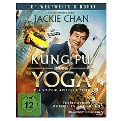 Kung Fu Yoga - Der goldene Arm der Götter Blu-ray