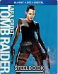 Lara Croft: Tomb Raider - Steelbook (Blu-ray + DVD + UV Copy) (US Import ohne dt. Ton) Blu-ray
