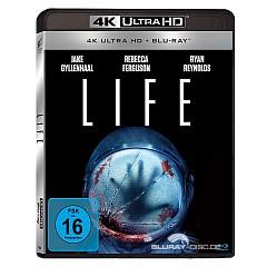 Life (2017) 4K (4K UHD + Blu-ray) Blu-ray