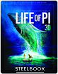 Life of Pi 3D - Limited Edition Lenticular Steelbook (Blu-ray 3D + Blu-ray) (KR Import) Blu-ray