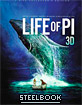 Life of Pi 3D - Zavvi Exclusive Limited Edition Steelbook (Blu-ray 3D + Blu-ray + UV Copy) (UK Import) Blu-ray
