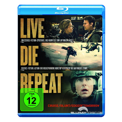 Live Die Repeat - Edge of Tomorrow (Blu-ray + UV Copy) Blu-ray