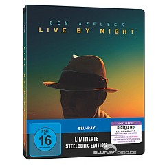 Live by Night (Limited Steelbook Edition) (Blu-ray + UV Copy) Blu-ray