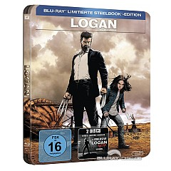 Logan - The Wolverine (Limited Steelbook Edition) Blu-ray