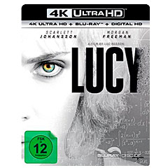 Lucy (2014) 4K (4K UHD + Blu-ray + UV Copy) Blu-ray