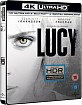 Lucy (2014) 4K (4K UHD + Blu-ray + UV Copy) (UK Import) Blu-ray