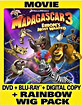 Madagascar 3: Europe's Most Wanted + Rainbow Wig Pack (Blu-ray + Blu-ray