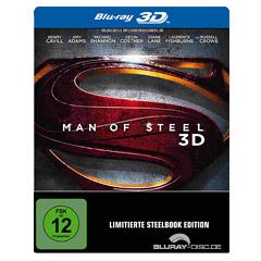 Man of Steel 3D - Steelbook (Blu-ray 3D + Blu-ray) Blu-ray