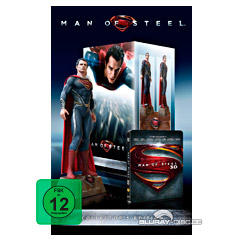 Man of Steel 3D - Ultimate Collector's Edition (Blu-ray 3D + Blu-ray) Blu-ray