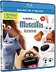 Mascotas 3D (Blu-ray 3D + Blu-ray) (ES Import) Blu-ray