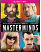 Masterminds (2016) (Blu-ray + DVD) (US Import ohne dt. Ton) Blu-ray