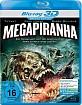 Mega Piranha 3D (Blu-ray 3D) Blu-ray