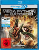 Mega Python vs. Gatoroid 3D (Blu-ray 3D) Blu-ray
