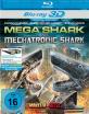 Mega Shark vs. Mechatronic Shark 3D (Blu-ray 3D) Blu-ray