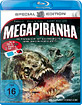 Mega Piranha 3D (Classic 3D) Blu-ray