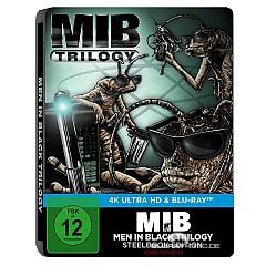 Men in Black Trilogy 4K (Limited Steelbook Edition) (4K UHD + Blu-ray) Blu-ray