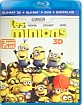 Les Minions (2015) 3D (Blu-ray 3D + Blu-ray + DVD + UV Copy) (FR Import) Blu-ray
