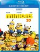 Minions (2015) 3D (Blu-ray 3D + Blu-ray) (IT Import) Blu-ray